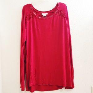 Ariat long sleeve western shirt top size XXL